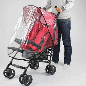 Wholesale rain cover for car resale online - Baby Stroller Rain Cover Breathable Stroller New Rain Cover Baby Car Windscreen Dust Cover For Covers Accessory