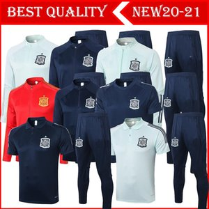 2020 Spain adult Jacket soccer Tracksuit camiseta españa 2020 Morata A.INIESTA FABREGAS RAMOS DIEGO ISCO Football Jacket Training suit