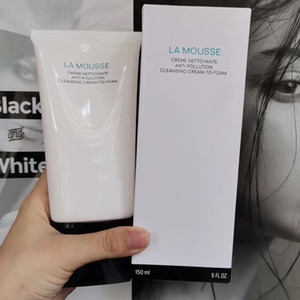 Top quality Brand La Mousse Anti-Pollution Cleansing Cream Foam Cleanser 150ml