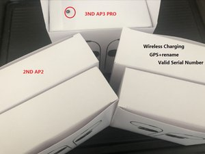 Rename AP2 AP3 Wireless Bluetooth Earbuds Chip Wireless Charging Case Optical In-Ear Detection Pods PK Air 3 Pro ap pro 2ND 3ND earphone