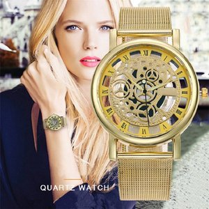 Wholesale ladies skeleton watches for sale - Group buy LOLIA Women Watch Luxury Gold Skeleton Women s Watches ultra thin Fashion Ladies Watch Wristwatches relogio feminino