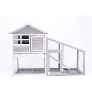Wholesale dog houses sale resale online - US Stock Hot Sale Dog Cat Wooden Pet House White Household Pet Furniture Fast Shipping