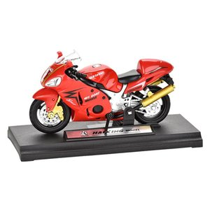 Wholesale motorbikes for kids for sale - Group buy 1 Alloy Motorcycle Model Simulation Alloy Diecast Model Car Gift Off Road Motorbike Collection For Kids Boys