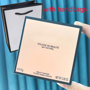 Wholesale powders for sale - Group buy Top quality Brand pressed powder makeup Beauty foundation Mat Nature With Handbag Pouder de beaute Embellissante