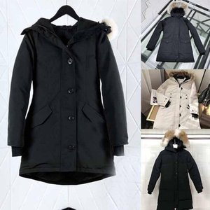new quality Women Winter jackets Warmcoat Designer Jacket Coats Luxury Women Underwears Doudoune Femme Jackets Women Wolf Fur