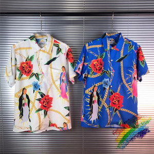 ingrosso hawaii lei-Nuovo Hawaii shirt Digital Printing Uomo Donna Top Tees camice di Streetwear
