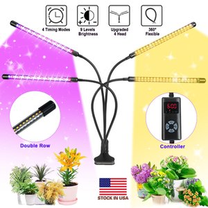 Wholesale timer light switch for sale - Group buy Plant Grow Light LED Growing Light Full Spectrum for Indoor Plants with Timer Plant Growing Lamps Switch Modes Brightness Settings