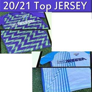 20 21 Malaga Soccer Jerseys Málaga 2020 2021 K. Bare Jersey JUANPI ADRIAN Football Shirt Juankar camiseta de fútbol CF Juande MENS Shirts