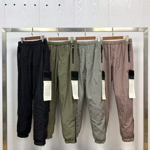 zhanxiaosi 2020 casual sports fashion coats mens trousers loose cotton comfortable high quality fabric OEM button pants for men most new