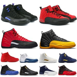 Wholesale games for balls resale online - Reverse Flu Game s gym red WNTR basketball shoes for men Dark Concord GAME BALL University Gold mens sneaker Sports Shoes