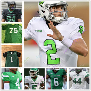 feijão branco venda por atacado-North Texas UNT Mean Green Football Jersey Faculdade Jason feijão Aune Adaway III Greg White Deonte Simpson Davis