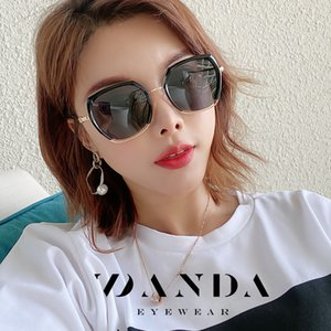 Wholesale korean large sunglasses resale online - 2020 New South Korean Women s Sunglasses Fashion Polarized Sunglasses Beach UV400 Women s with Large Frames