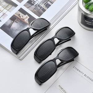 Wholesale eyes vision care for sale - Group buy Vision Care Pin Hole Sunglasses Men Women Anti myopia Pinhole Glasses Eye Exercise Improve Eyesight Natural Healing Goggles
