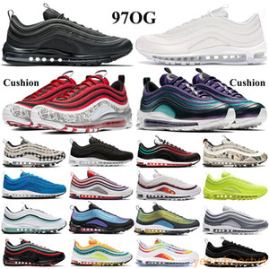 Wholesale wolf gold resale online - New Cushion OG Men Women Running Shoes triple white black sport Sneakers gradient fade neon seoul Court Purple japan OG wolf grey Trainers