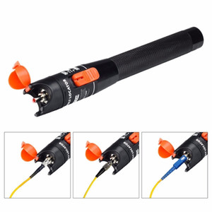 Wholesale cable fault locator for sale - Group buy 10mw km Visual Fault Locator mW Fiber Optic Pen Fusion Laser Fibra Optica Cable Tester