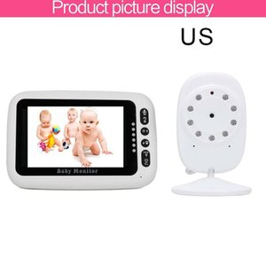 Wholesale infant baby videos resale online - Wireless Digital Baby Monitor inch LCD Screen Two Way Audio Video Baby Monitor Night Lullaby Infant Camera