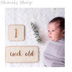 Wholesale growing baby resale online - Newborn Photography Props Baby Growing Up Calendar Recording Prop Photoshoot Accessories New born Baby fotoshoot Decoration