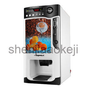 Wholesale coins machine resale online - automatic Smart coin operated commercial instant coffee machine hot and cold coffee machine milk tea juice beverage machine