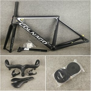 Free shipping package for sale T1100 UD Colnago V3Rs Disc carbon road bike frames Handlebar Saddle Bottle cages Bicycle Disk Frameset