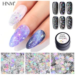 esmalte de uñas al por mayor-HNM ML Láser Gel Gel de uñas Estrella Estrella Sky Effe Off Off Barnish Primer UV LED Nail Gel Manicure Salon