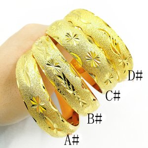 Wholesale womens jewelry resale online - Classic Womens Wedding Bridal Bangle Bracelet Dubai Bangle Jewelry Africa Arab Thick Bangles Jewely Diameter mm