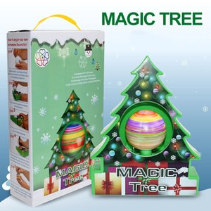 Wholesale painting ball resale online - New DIY Christmas Ball Xmas Tree Ornaments Creative Painting Ball Battery Powered Toys New Year Gifts for Kids Children Handmade