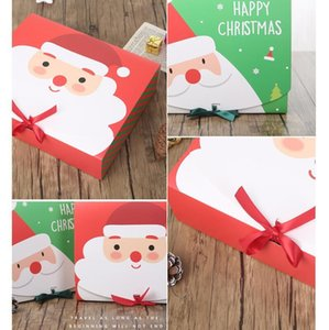Wholesale indoor activities for sale - Group buy Christmas Gift Boxes Xmas Packing Box Santa Claus Paper Gift Boxes Case Design Printed Candy large Box Party Activity Decorations HWC2650