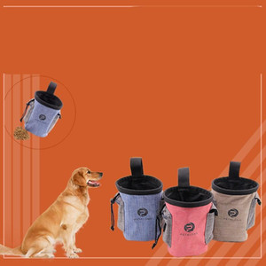 Wholesale dog treats for sale - Group buy Pet Supplies Feed Storage Bags Puppy Training Sack Dog Cats Treat Pocket Feeders Cloth Portable Animal Pouch mc G2