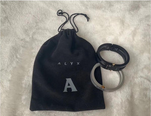 20ss Latest ALYX Aluminium Alloy Bracelet Men Women High Street Unisex Couples Jewelry Bangles ALYX Accessorie