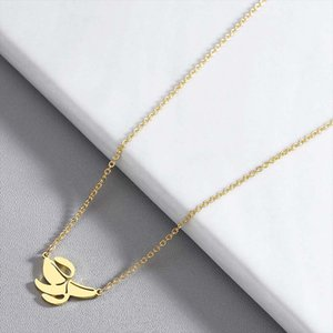 Wholesale gold fruit resale online - chain necklace women gold necklaces pendants stainless steel fashion jewelry the neck banana pendant women necklaces cute fruit