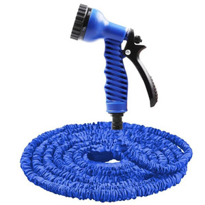 Wholesale garden hose expandable water pipe resale online - 25FT FT Garden Hose Expandable Magic Flexible Water Hose EU Plastic Hoses Pipe with Spray Gun To Watering Car Wash Spray