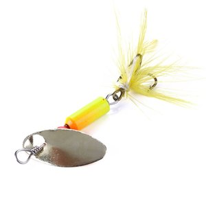 Wholesale crappie fishing lures hard bait resale online - 120PCS cm g spinner bait fishing lure spoons Freshwater Shallow Water Bass Walleye Crappie Minnow Sequins hard baits