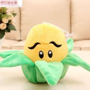Wholesale plants zombie for sale - Group buy 2020 New Halloween plants vs Zombies Stuffed animals Children s Birthday presents Pea Shooter melons sunflower dolls Birthday presents