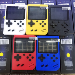 Retro 400 in 1 8 Bit Mini Handheld Portable Game Players Game Console 3 LCD Screen Support TV-Out
