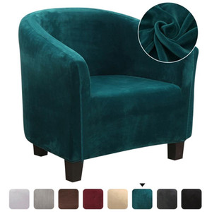 Spandex Elastic Sretch Coffee Tub Sofa Armchair Seat Cover Protector Washable Furniture Stretch Slipcover Home Chair Decoration