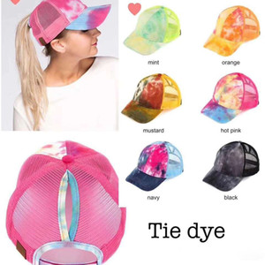 Wholesale summer caps for sale - Group buy 2020 ZYF Hot Ponytail Baseball Cap Messy Bun Hats For Women Washed Cotton Snapback Caps Casual Summer Visor Outdoor Party Hat FY7154