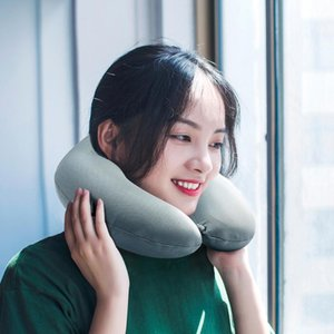 Wholesale travelling pillows for sale - Group buy Summer Cooling Memory Foam Pillow Neck U Shape Pillows For Airplane Neck Support Cervical Relief For Travel Car Home Accessories