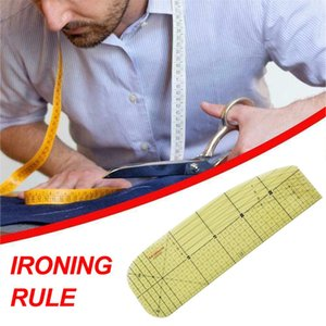 Wholesale tailor cloth ruler for sale - Group buy New Ironing Ruler Measuring Tool Hot Patchwork Tailor Craft Cloth Cutting Rulers Patchwork Ruler Quilting Rule DIY Sewing Tools