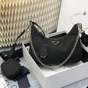 Multi pochette Wallet Nylon Shoulder Bag sac fourre tout ladies back chains mini handbag crossbody woman purse high quality bags pra bag