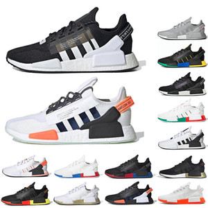 männer adidas großhandel-adidas NMD R1 v2 Creepers High Quality Puma RS X Toys Reinvention Shoes New Men Women Running Basketball Trainer Casual Sneakers Size