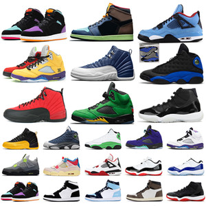 men women basketball shoes 1s Twist sail 4s bred 11s reflective Hyper Royal 13s Indigo 12s what the 5s mens trainers sports sneakers