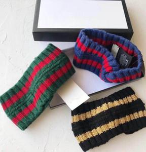 Hot Designer Elastic Turban Wool Headband knit Hair Bands for Men and Women Italy Brand Winter Warm Headbands Headwraps S046