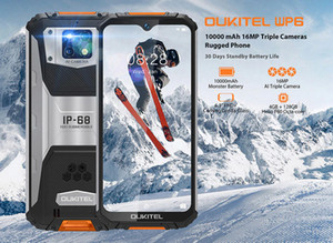 Wholesale store ratings resale online - OUKITEL WP6 IP68 Rugged Waterproof Smartphone MT6771T Octa Core V A mAh Battery MP Triple Camera GB GB Mobile Phone