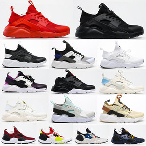 Wholesale huarache shoes resale online - 2021 New Huarache Ultra Running Shoes Men And Women Athletic Huaraches Sneakers Breast Cancer Huraches Running Shoes Size