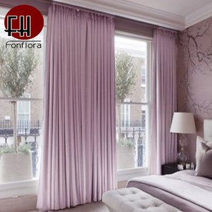 Wholesale thermal insulating curtains resale online - Luxury Thick Cotton Velvet Curtains For Living Room Blackout Window Curtains For Bedroom Thermal Insulated Blackout