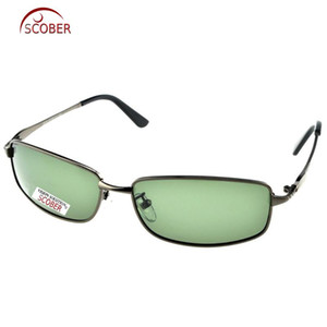 bordas cinzentas venda por atacado-Scober Custom Made Nearsighted Minus prescrição Grande Rim total Grey Google Mens Designers óculos polarizados a