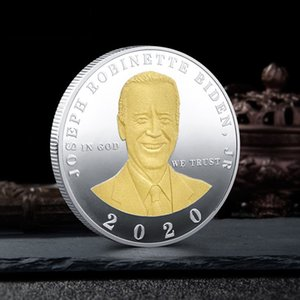 Wholesale custom coins for sale - Group buy Custom Biden Presidential Election Metal Commemorative Coin Enshrine Souvenir Medal DHL HHF1437