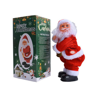 Wholesale blending bottle for sale - Group buy Shaking Hip Music Electric Santa Claus Toy Electric Shaking Buttock Santa Claus Christmas Decorations Xmas Kids Gifts CYZ2753 Sea Shipping