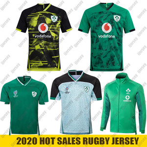 Wholesale world cup jackets for sale - Group buy 20 Ireland rugby Jerseys World Cup Ireland national team rugby Home Away jacket rugby shirt POLO vest S XL
