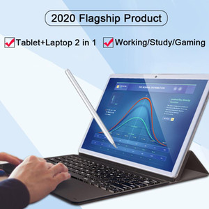 Wholesale 11.6 inch tablet laptop for sale - Group buy WPS office inch working tablet Portable Tablet pc in laptop notebook G phone call GPS Bluetooth camera keyboard case
